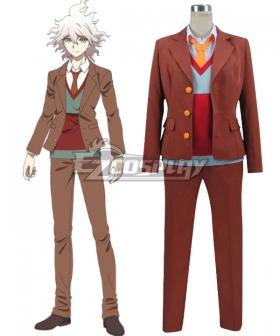 Danganronpa 3 Dangan Ronpa The End of Hope's Peak High School Despair Arc Nagito Komaeda Cosplay Costume