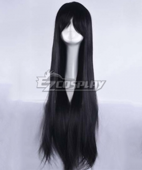 Danganronpa V3: Killing Harmony Shuichi Saihara Female Black Cosplay Wig