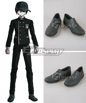 Danganronpa V3: Killing Harmony Shuichi Saihara Grey Cosplay Shoes