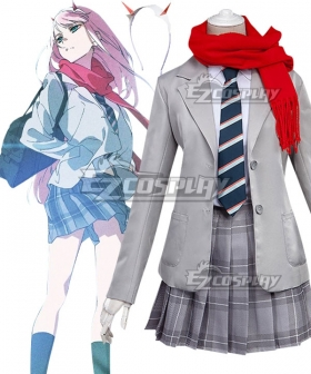 Darling In The Franxx Zero Two Code 002 Daily Clothes Cosplay Costume
