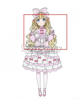 Date A Bullet Pannier Ibusuki Golden Cosplay Wig