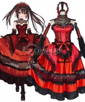 Date A Bullet Tokisaki Kurumi Nightmare Cosplay Costume