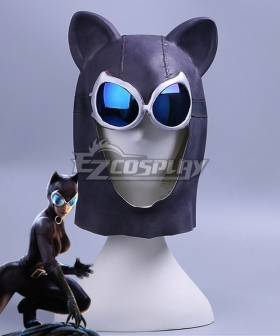 DC Batman Catwoman Selina Kyle Halloween Mask Cosplay Accessory Prop