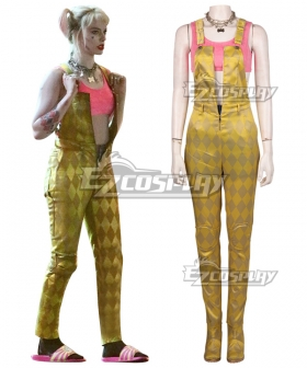 DC Birds of Prey Harley Quinn Cosplay Costume
