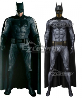 DC Justice League Batman Bruce Wayne Zentai Jumpsuit Cosplay Costume