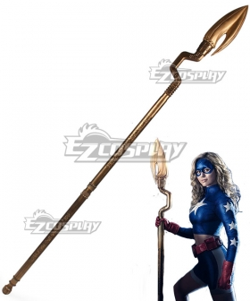 DC Stargirl Courtney Whitmore Cosmic Staff Cosplay Weapon Prop