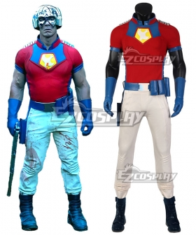 DC Suicide Squad 2 Peacemaker Cosplay Costume