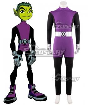 DC Teen Titans Beast Boy Garfield Logan Cosplay Costume