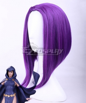 DC Teen Titans Raven Purple New Edition Cosplay Wig