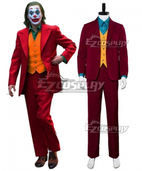 DC The Joker 2019 Movie Joker Arthur Fleck Batman Cosplay Costume C Edition