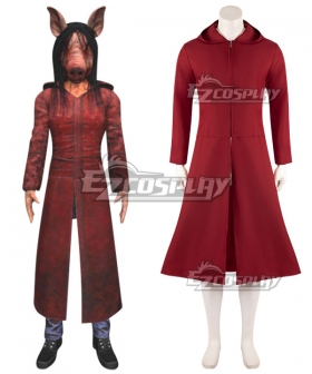 Dead by Daylight Amanda Young The Pig Red Coat Halloween Cosplay Costume