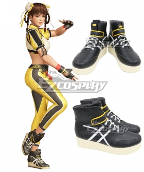 Dead or Alive 6 Leifang Black Cosplay Shoes