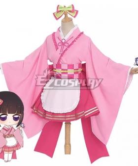Demon Slayer Kanao Tsuyuri Maid Cosplay Costume