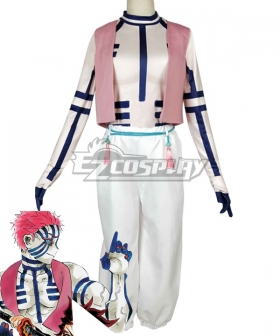 Demon Slayer: Kimetsu no Yaiba Akaza Komaji Cosplay Costume