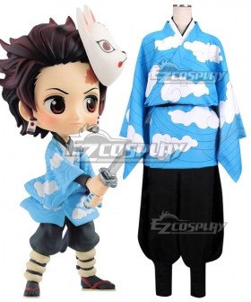 Demon Slayer: Kimetsu No Yaiba Kamado Tanjirou Cosplay Costume