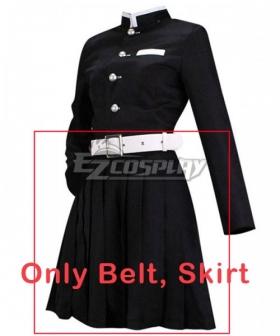 Demon Slayer: Kimetsu No Yaiba Kanao Tsuyuri Cosplay Costume - Only Skirt, Belt