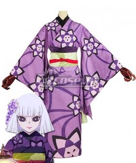 Demon Slayer: Kimetsu No Yaiba Kanata Ubuyashiki Cosplay Costume