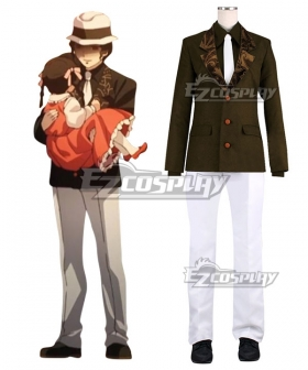 Demon Slayer: Kimetsu No Yaiba Muzan Kibutsuji Cosplay Costume
