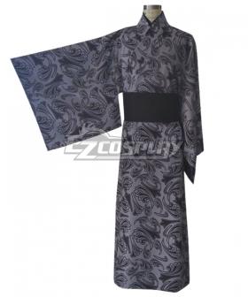 Demon Slayer: Kimetsu no Yaiba Muzan Kibutsuji Kimono Cosplay Costume