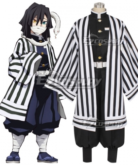 Demon Slayer: Kimetsu no Yaiba Obanai Iguro Wthie Cosplay Costume