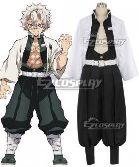 Demon Slayer: Kimetsu No Yaiba Sanemi Shinazugawa Cosplay Costume