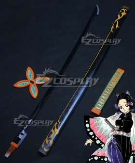 Demon Slayer: Kimetsu No Yaiba Shinobu Kochou Sword Cosplay Weapon Prop