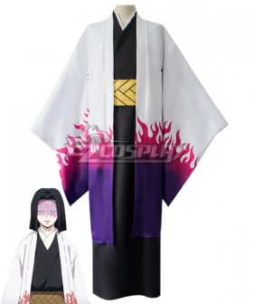 Demon Slayer: Kimetsu No Yaiba Ubuyashiki Kagaya Cosplay Costume