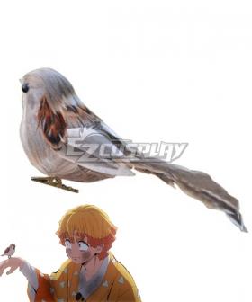 Demon Slayer: Kimetsu no Yaiba Zenitsu Agatsuma Sparrow Cosplay Accessory Prop