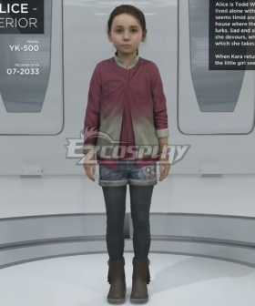 Detroit: Become Human Alice YK500 Cosplay Costume