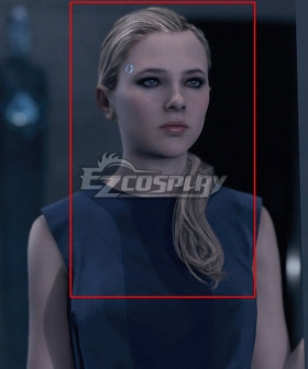 Detroit: Become Human Chloe Golden Cosplay Wig