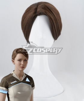 Detroit: Become Human Kara Brown Cosplay Wig