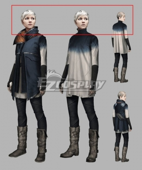 Detroit: Become Human Kara Silver Grey Cosplay Wig