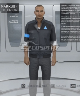 Detroit: Become Human Markus Cosplay Costume