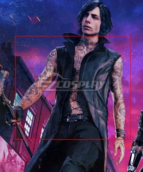 Devil May Cry 5 V Tattoo sticker Cosplay Accessory Prop