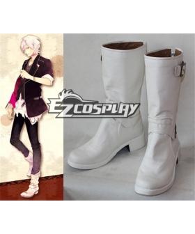 Diabolik Lovers DIABOLIK LOVERS Sakamaki Subaru White Shoes Cosplay Boots