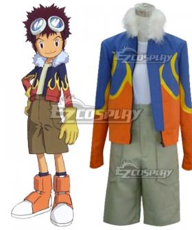 Digimon Adventure 2 Motomiya Daisuke Cosplay Costume