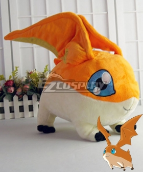 Digimon Adventure Digital Monster Patamon Doll Cosplay Accessory Prop