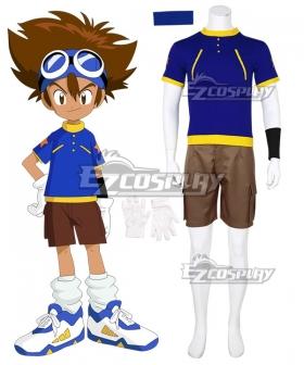 Digimon Adventure Digital Monster Tai Kamiya Taichi Yagami Cosplay Costume , Special Price $37.99 (Regular Price $79.99)