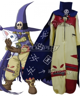Digimon Adventure Wizarmon Cosplay Costume