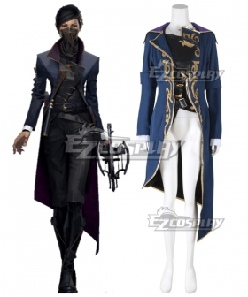 Dishonored 2 Emily Kaldwin Cosplay Costume