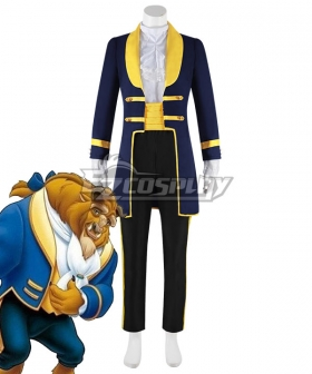 Disney Anime Beauty and The Beast Beast Prince Cosplay Costume