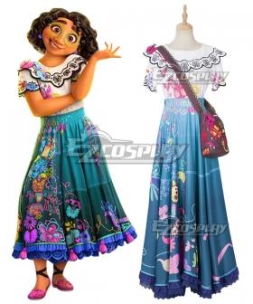 Disney Encanto Mirabel Halloween Cosplay Costume