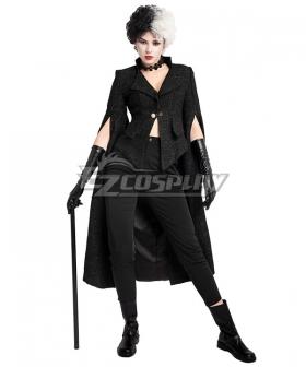 Disney Movie Cruella de Vil B Cosplay Costume