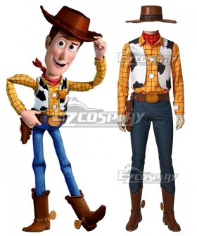 Disney Pixar Toy Story Woody Cosplay Costume