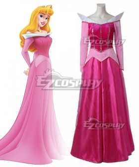 Disney Sleeping Beauty Cosplay Princess Aurora Costume Outfit