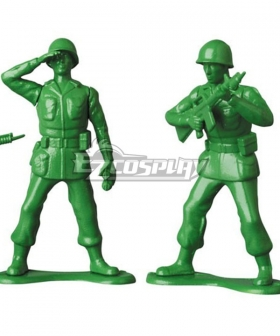 Disney Toy Story Green Army Men Cosplay Costume