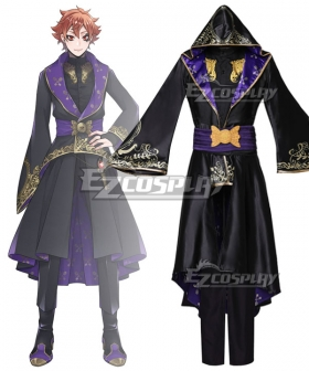 Disney: Twisted-Wonderland Riddle Robes Uniform Cosplay Costume