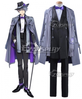 Disney Twisted Wonderland Azul Ashengrotto Cosplay Costume