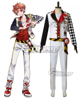 Disney Twisted Wonderland HEARTSLABYUL Ace Trappola Cosplay Costume