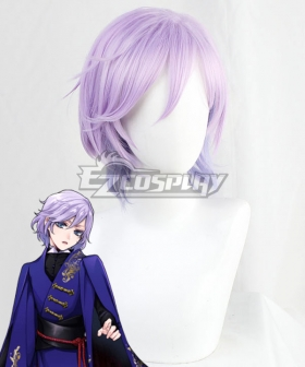 Disney Twisted Wonderland Pomefiore Epel Felmier Purple Cosplay Wig